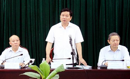 Ông Đinh La Thăng: 'Quy hoạch huyện lên quận để quản lý tốt hơn'